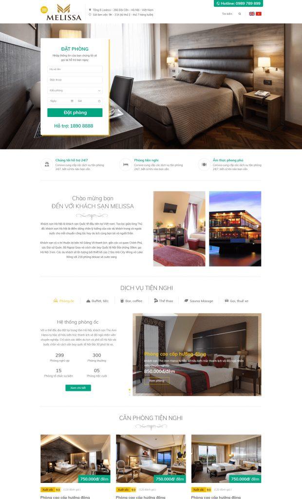 Website Khách sạn1 RT