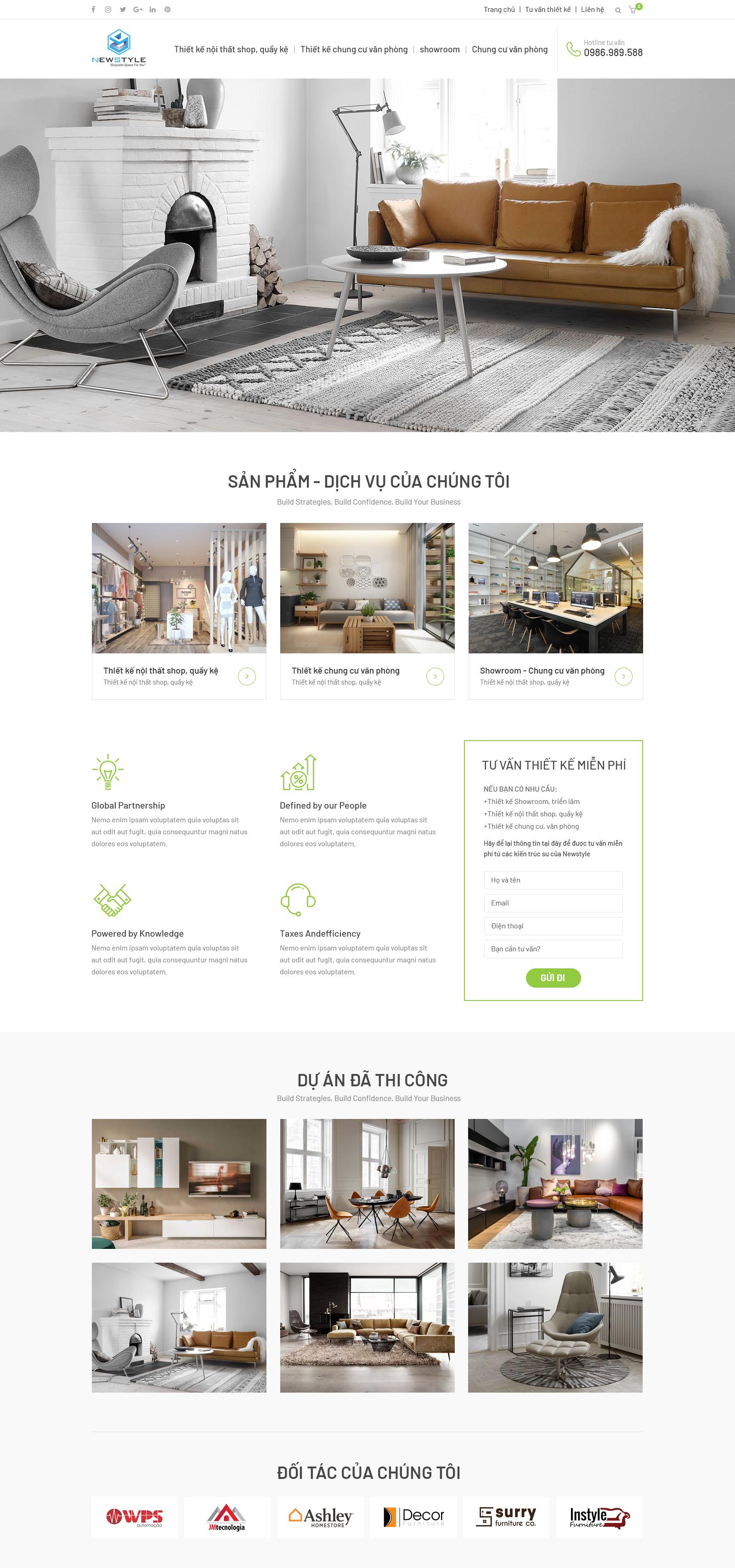 Website Nội thất 14 RT