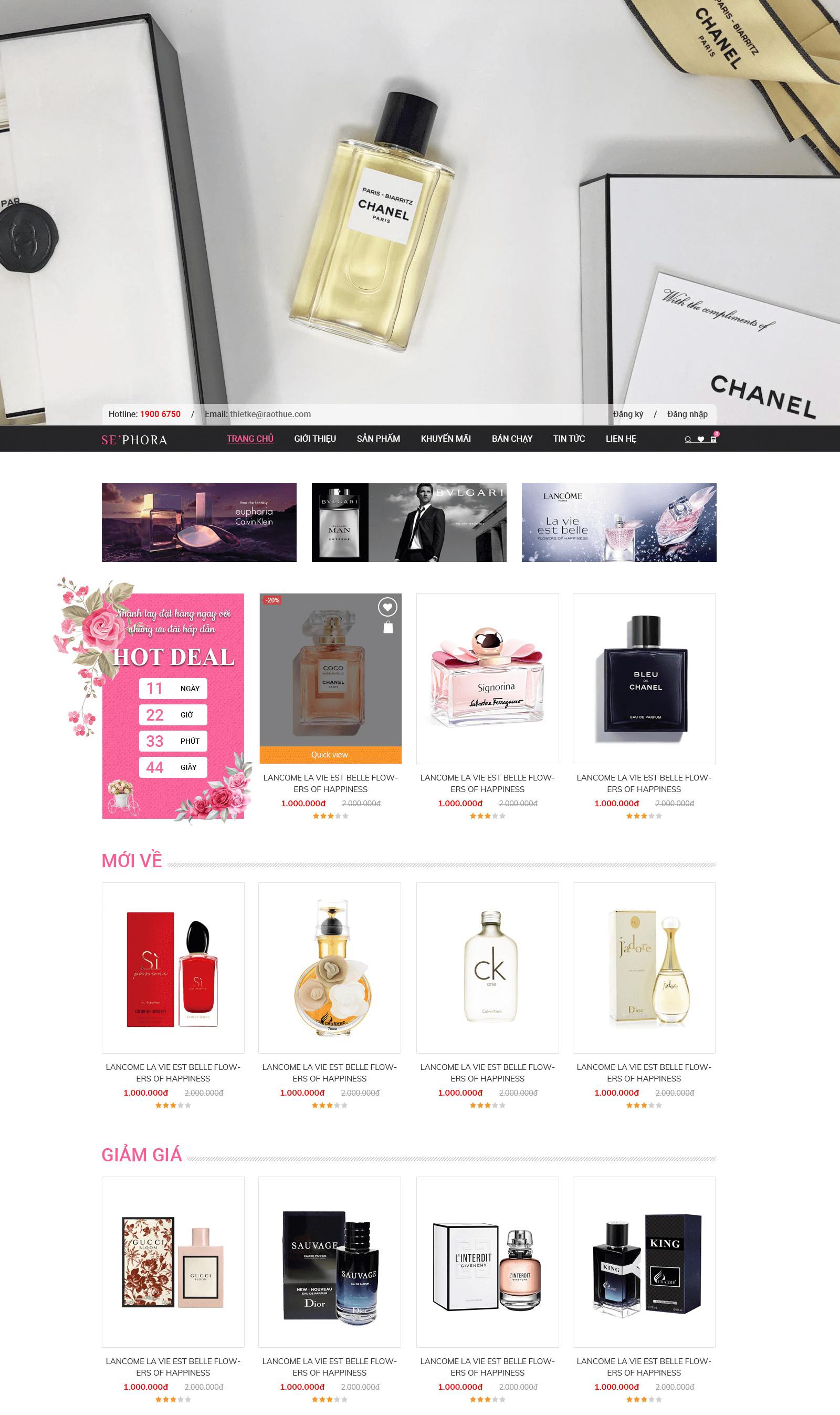 Website SephoreRT